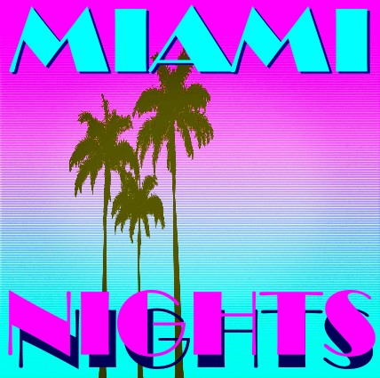 miami nights cover face