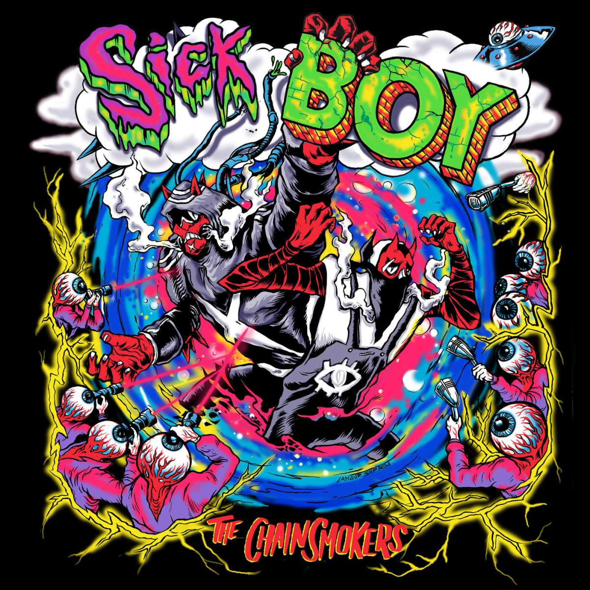 The Chainsmokers implode on bizarre new track 'Sick Boy' - Review