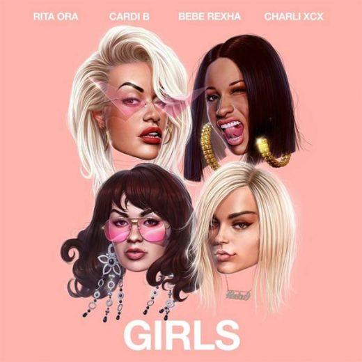 girls-single-rita-ora-cardi-b-charli-xcx-bebe-rexha-thatgrapejuice-600x600